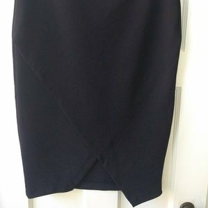 H&M asymmetrical pencil skirt
